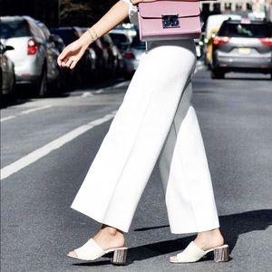 Who What Wear Felicity Macrame Strap Slide Sandals